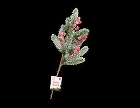 Wholesale Artificial Pine / Berry Branch 50cm | Gem Imports Ltd