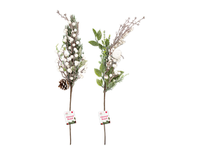 Wholesale Artificial Decorative Glittered Branch 65cm | Gem Imports Ltd