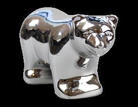 Wholesale Mirrored Polar Bear Ornament | Gem Imports Ltd