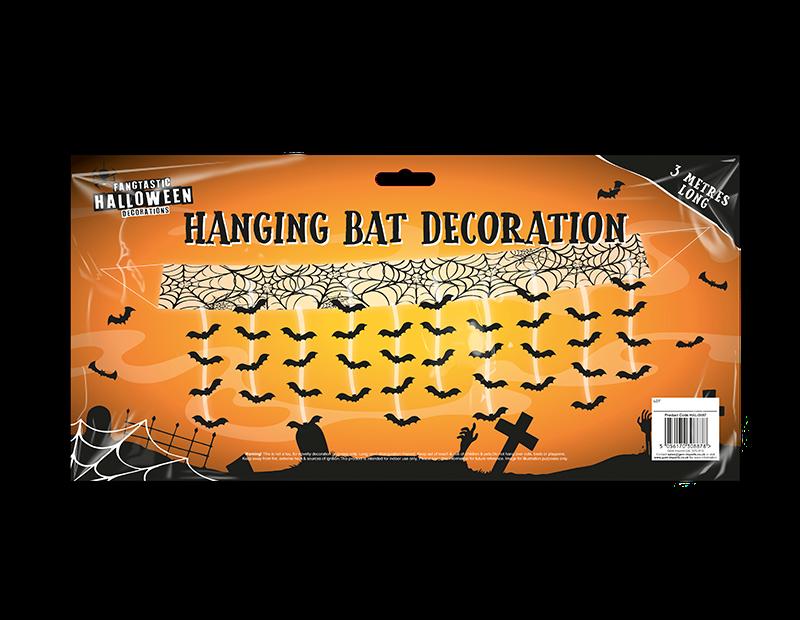 Halloween Gruesome Bat Attack Decoration