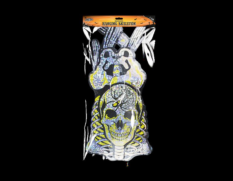 Holographic Skeleton Hanging Decoration