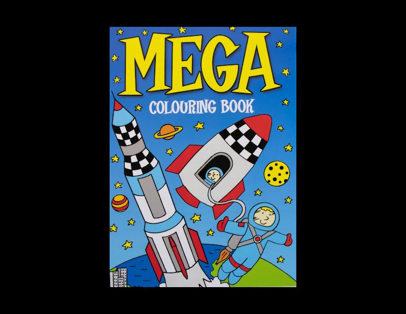 Mega Colouring Book