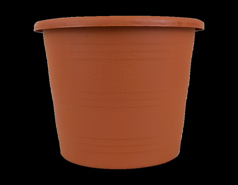 Round Plastic Plant Pot 24cm
