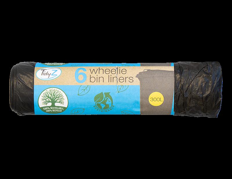 Wheelie Bin Liners - 6 Pack