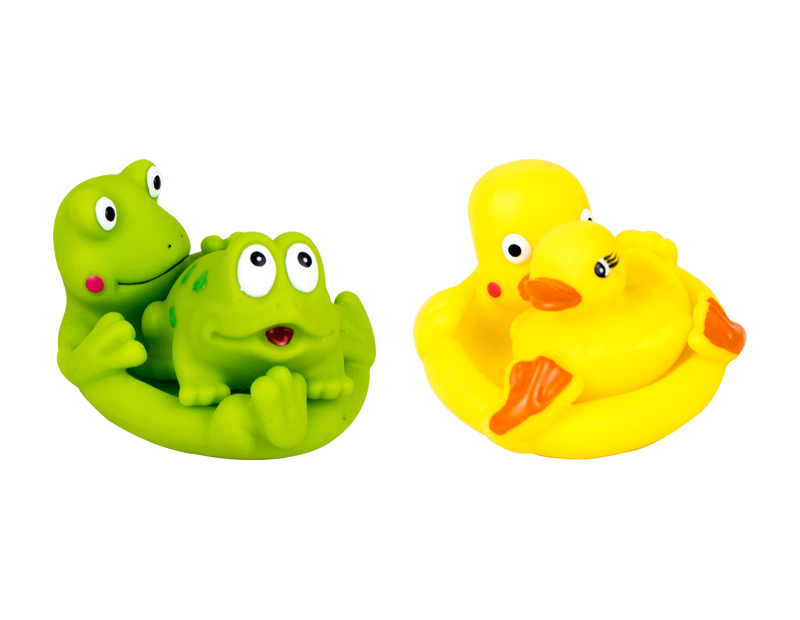 Bath Time Family Play Set - 2 Pack