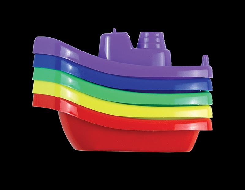 Bath Time Boats - 5 Pack