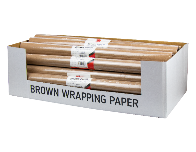 Brown Paper Roll 5m With PDQ