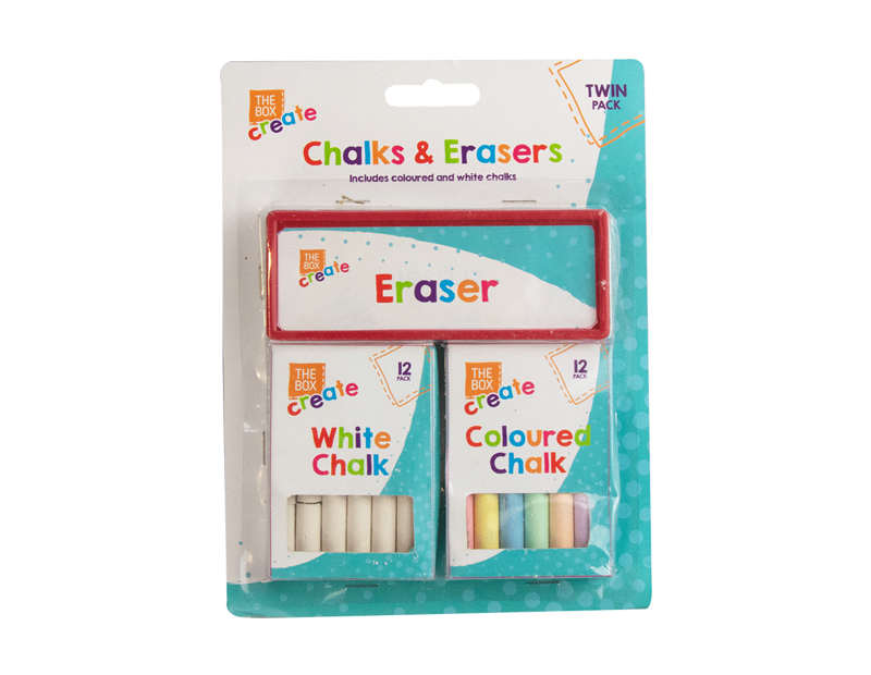 Chalk & Eraser Set