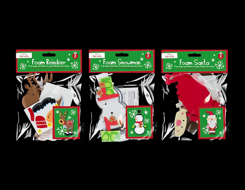 Christmas Foam Craft Characters