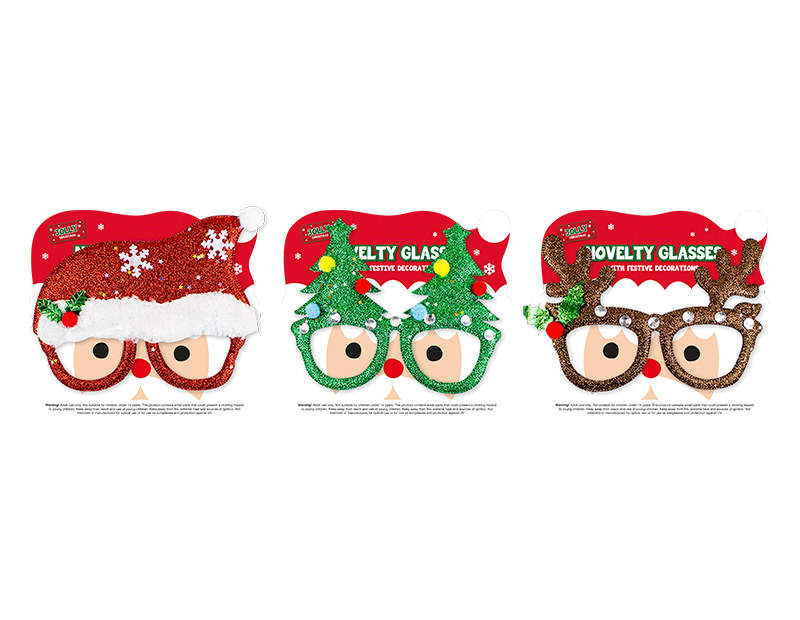Christmas Novelty Glasses