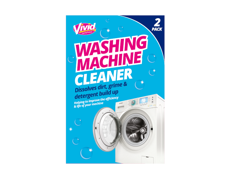 Washing Machine Cleaner - 2 Pack