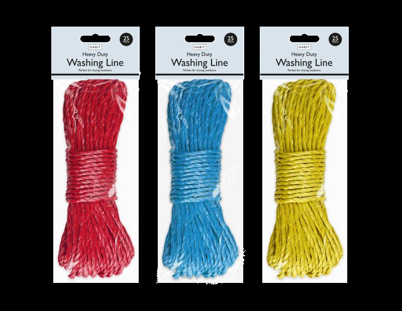 Heavy Duty Washing Line 25m