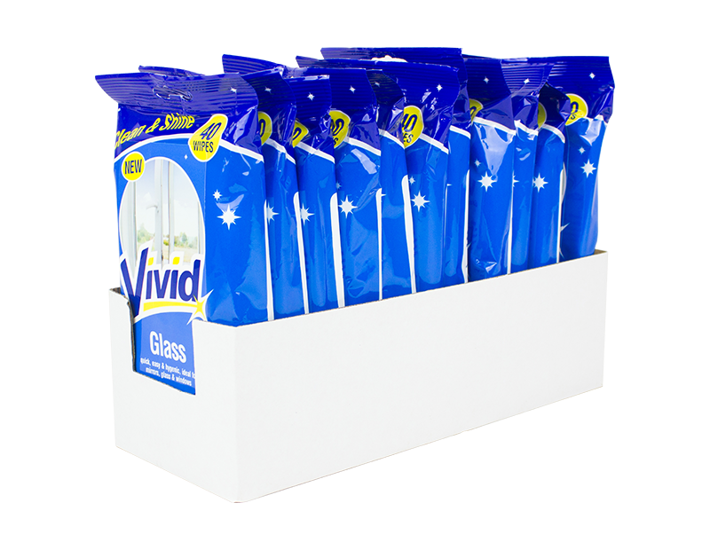 Glass Wipes - 40 Pack