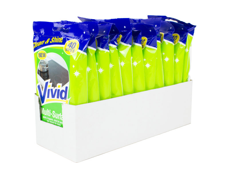 Multi-surface Wipes - 40 Pack