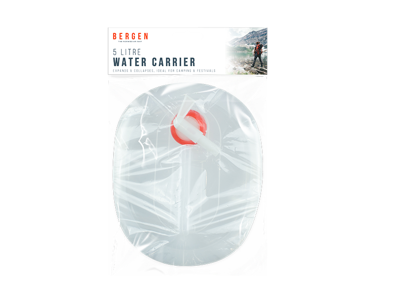 Collapsible Water Carrier - 5 Litre