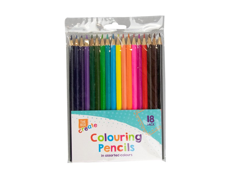 Colouring Pencils - 18 Pack