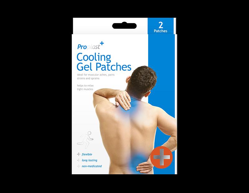 Cooling Gel Plasters - 2 Pack