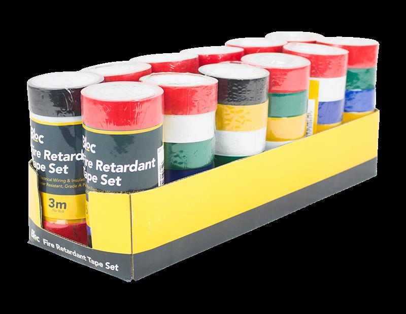 Fire Retardant Tape Set - 6 Pack