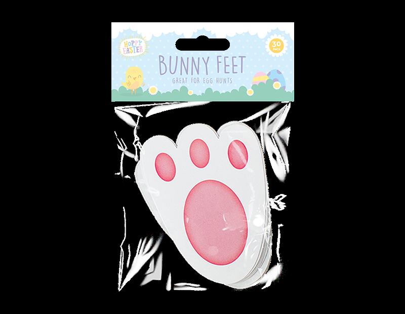 Easter Bunny Feet - 30 Pack