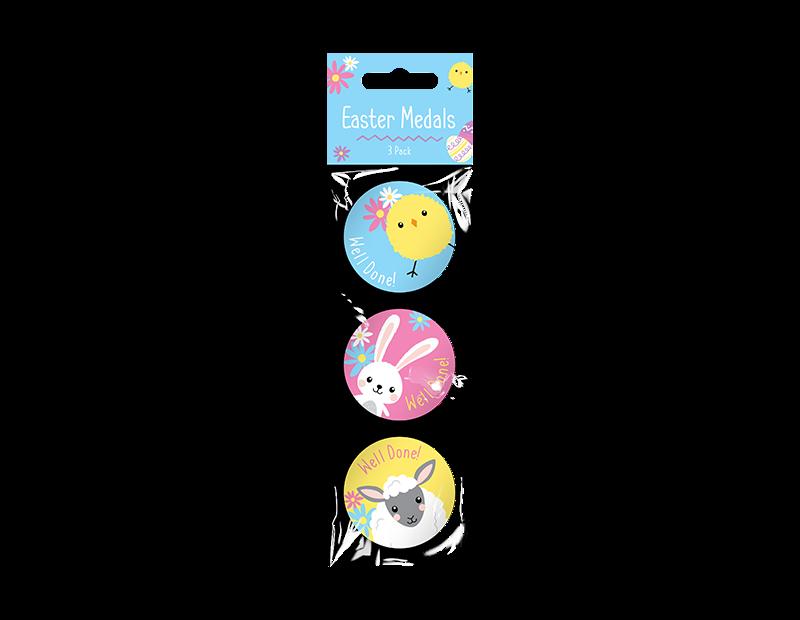 Easter Medals - 3 Pack