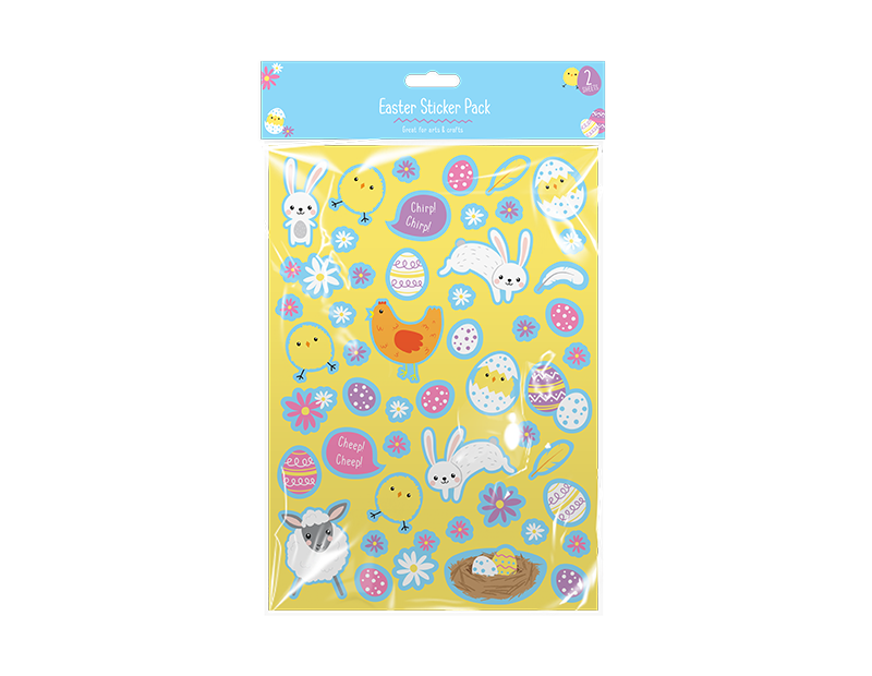 Easter Stickers 2 Sheets