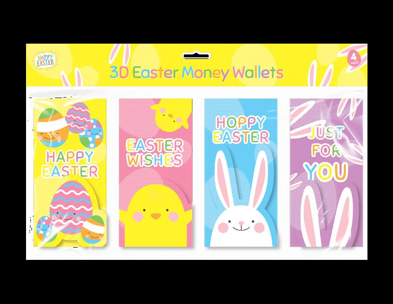 Easter Money Wallets - 4 Pack
