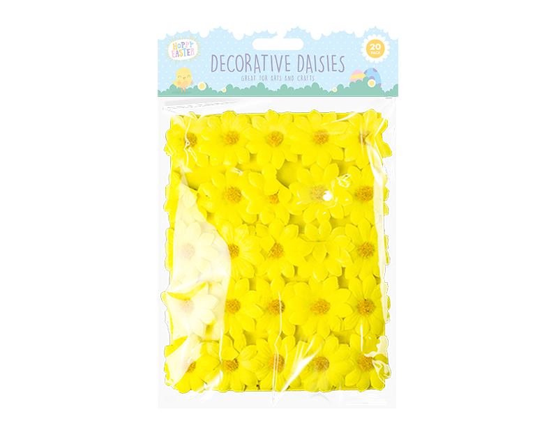 Easter Decorative Daisies - 20 Pack