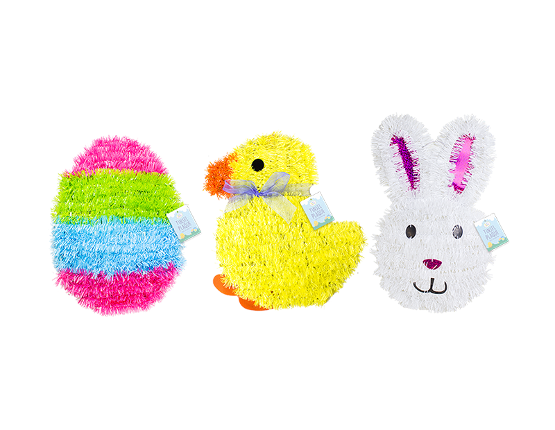 Easter Tinsel Wall Plaque