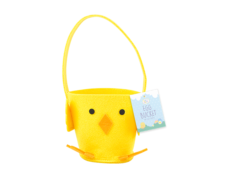 Felt Easter Chick Treat Bucket