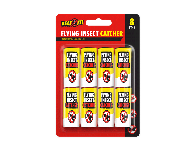 Flying Insect Paper Catchers - 8 Pack