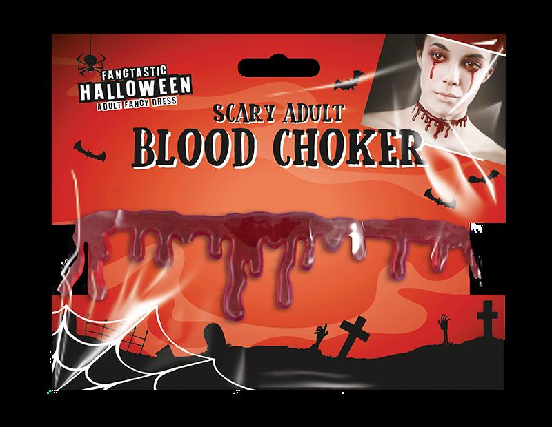 Halloween Bloody Neck Choker