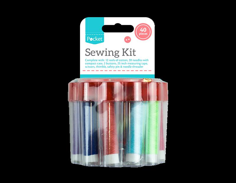 Sewing Kit - 40 Piece