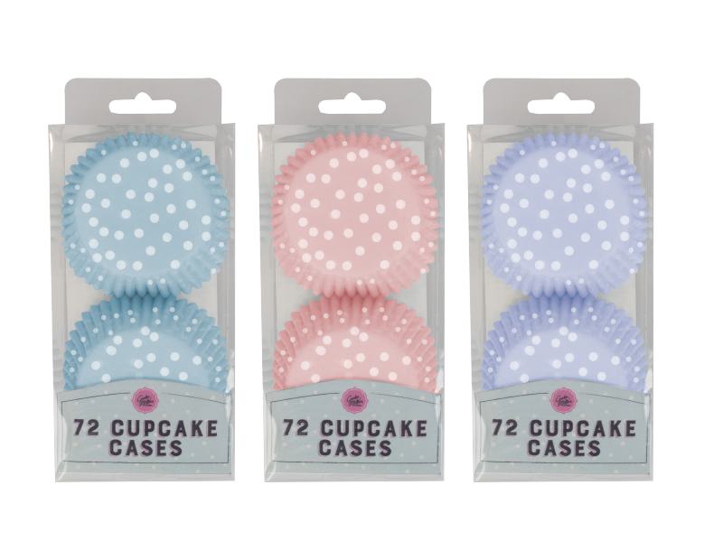 Cupcake Cases - 72 Pack