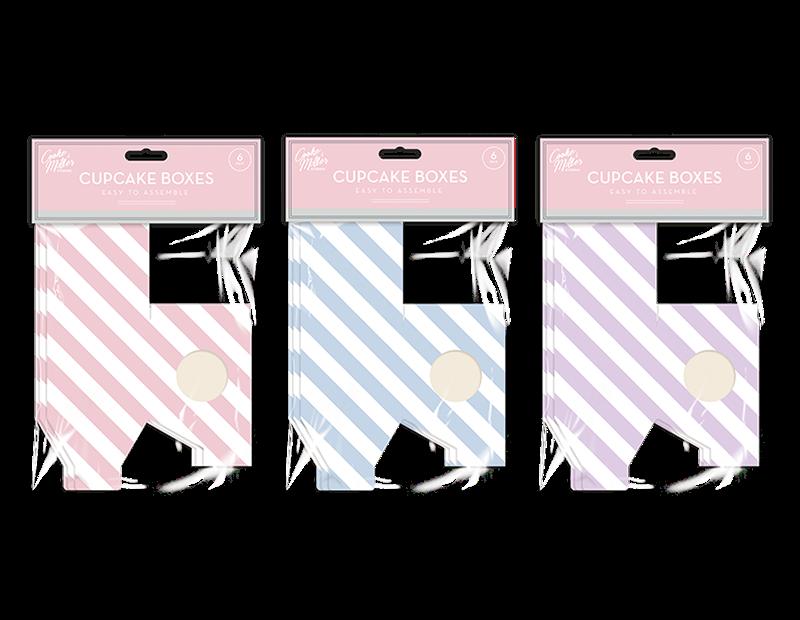 Cupcake Boxes - 6 Pack