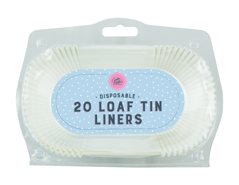 Loaf Tin Liners - 20 Pack