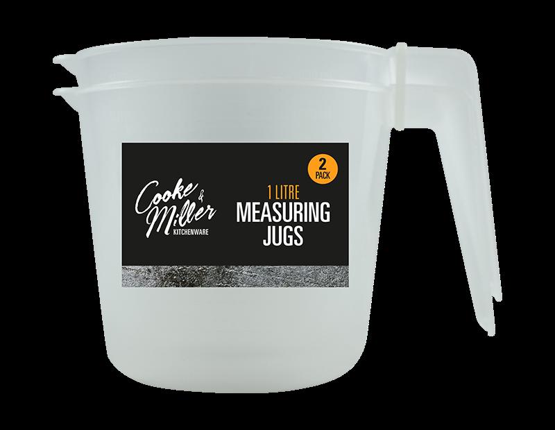 Measuring Jugs 1 Litre - 2 Pack