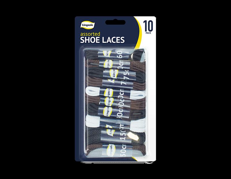 Shoe Laces - 10 Pairs