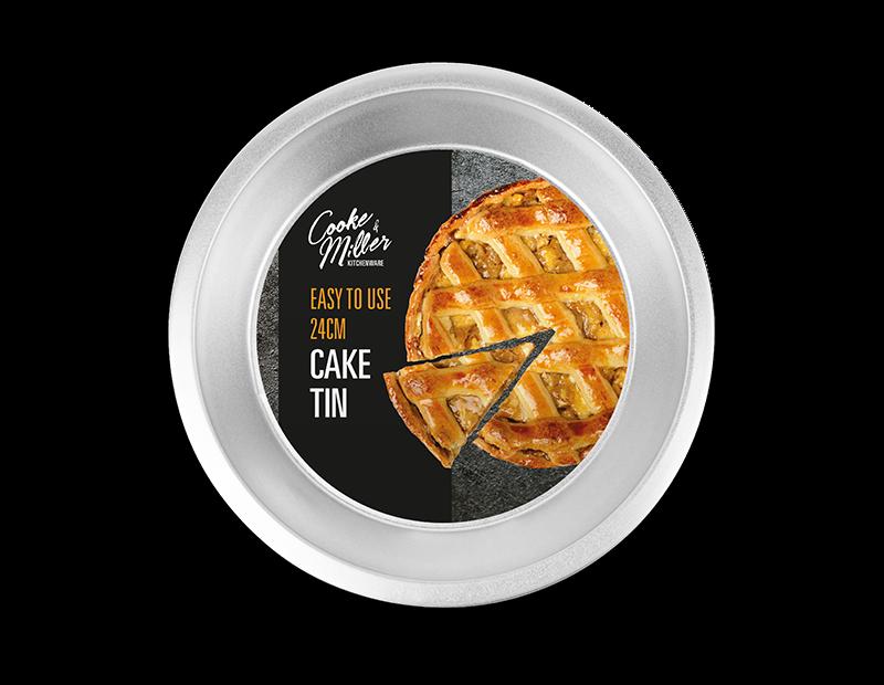 Classic Steel Round Cake Tin