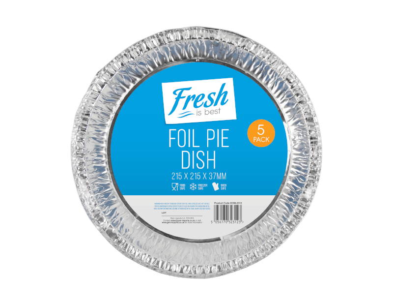 Foil Pie Dishes - 5 Pack