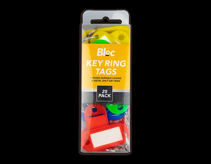 Keyring Tags - 25 Pack