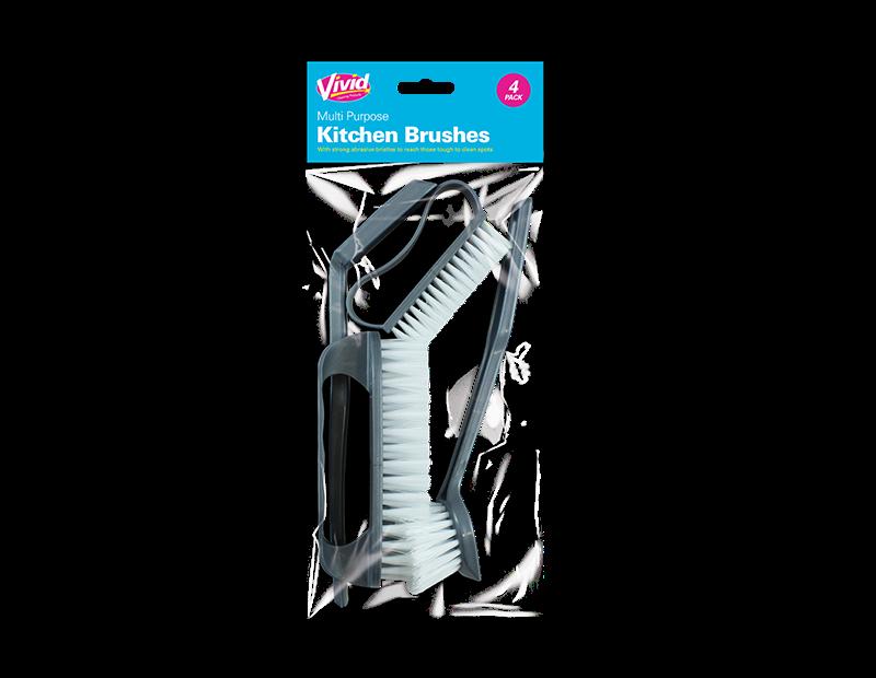 Kitchen Brushes - 4 Pack