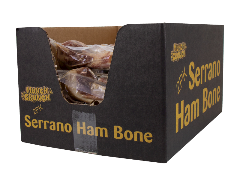 Serrano Ham Bones - 2 Pack (With PDQ)