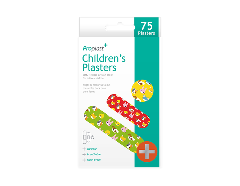 Childrens Plasters - 75 Pack