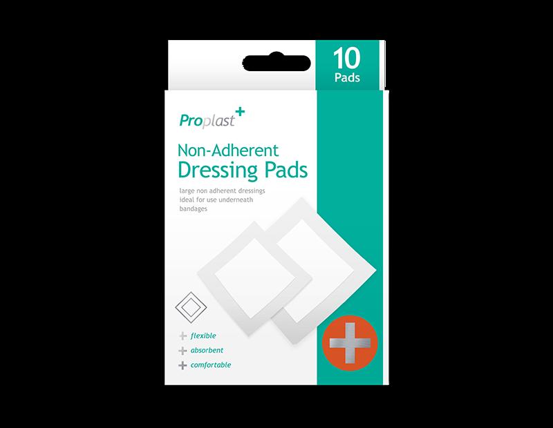 Non-adherent Dressing Pads - 10 Pack