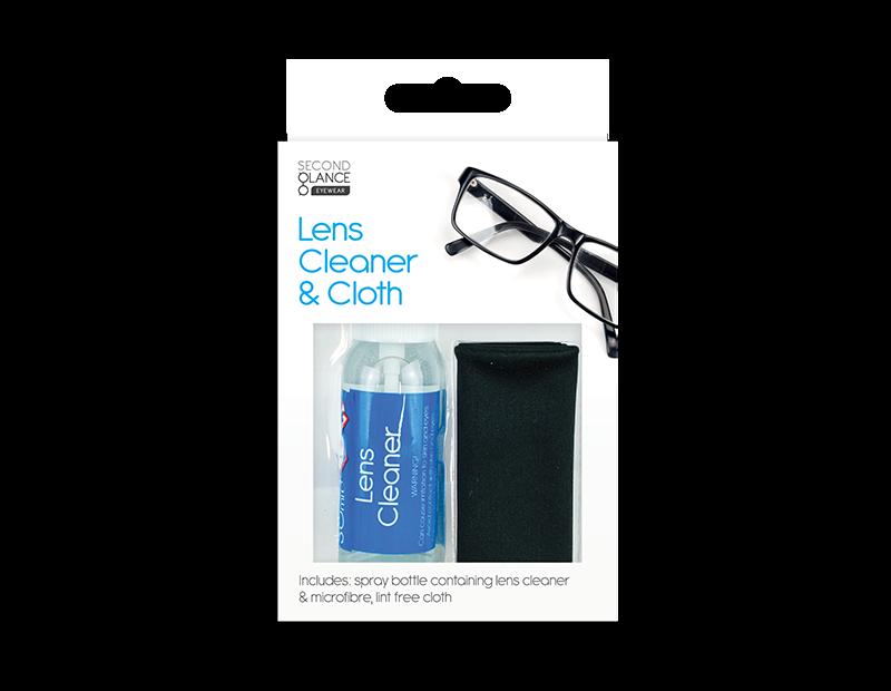 Glasses Lens Cleaner & Cloth Set 30ml