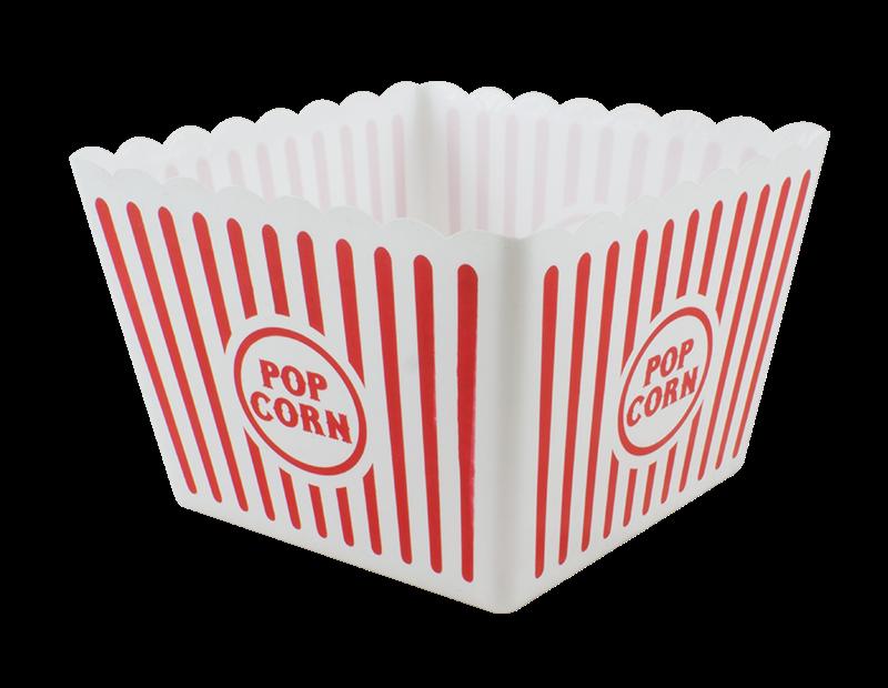 Large Plastic Popcorn Holder