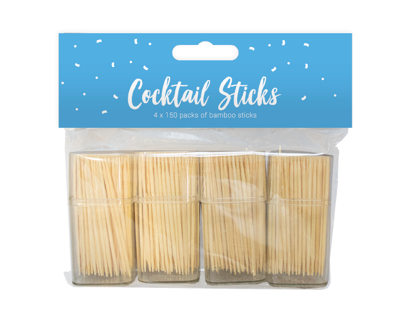 Party Cocktail Sticks - 4 Pack