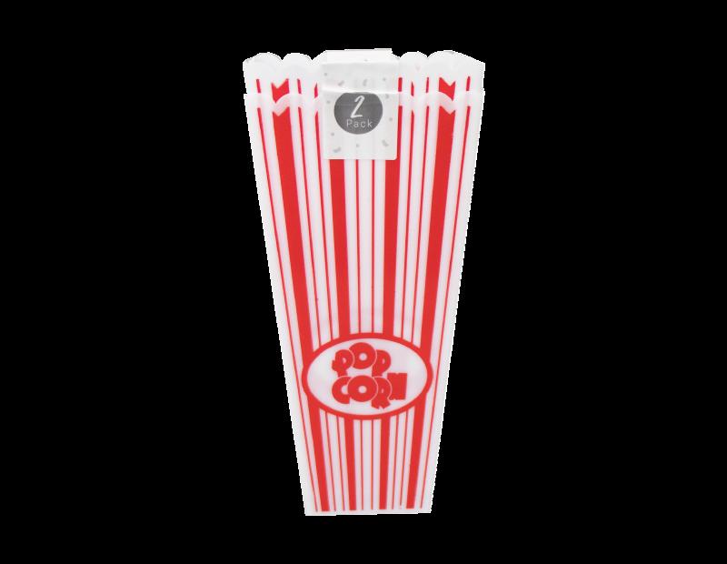 Plastic Popcorn Holder - 2 Pack