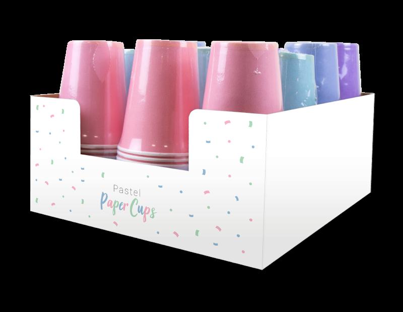 Pastel Disposable Paper Cups
