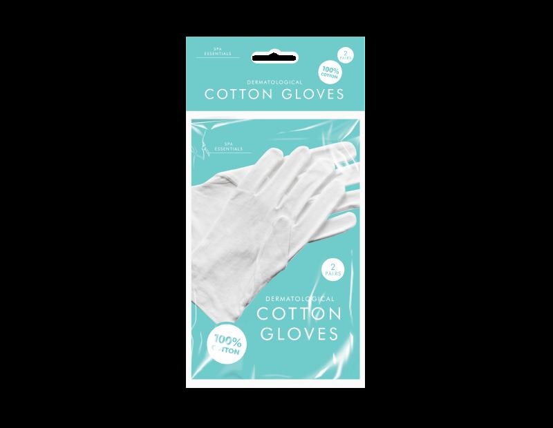 White Cotton Gloves - 2 Pack